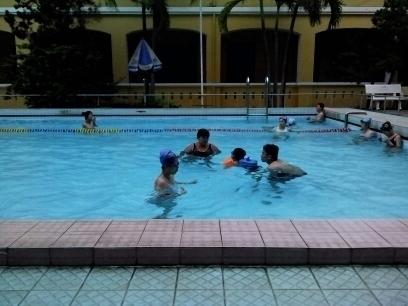 Dạy bơi tại quận 3